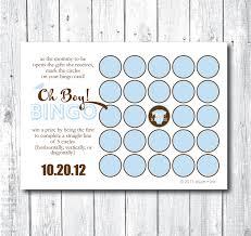 card baby bingo card template