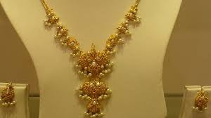 top 15 light weight gold necklace sets jewellery designs