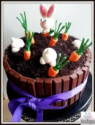 17 easy fondant flowers cute easter bunny cake decorating