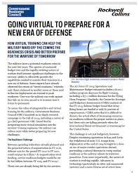 going virtual to prepare for a new era of defense
