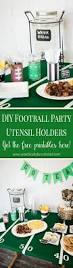 Diy Football Decorations Free Football Printables By Love The Day Football Party Ideas