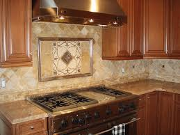Kitchen Medallion Backsplash Beeindruckend Custom Backsplash Kitchen Medallions Traditional