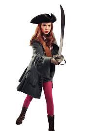 doctor halloween costume karen gillan in pirate costume with flashy pink tights pink