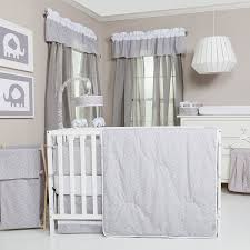 White Nursery Bedding Sets by Amazon Com Trend Lab 3 Piece Crib Bedding Set Gray And White