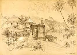 temple of buddha u0027s tooth kandy ceylon 18 april 1870