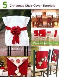 christmas chair back covers christmas chair cover ideas fubbly us