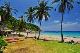 ao luek bay u0026 beach koh tao ok beach with 3 budget bungalows