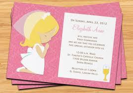 communion invitations for girl items similar to communion invitation for girl on etsy
