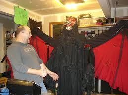 halloween animatronic winged demon hacked gadgets u2013 diy tech blog