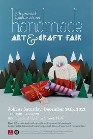 handmade art craft fair poster nh d