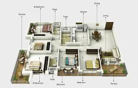 3d Plan Mounthill Fussion Levels Of Lifestyle