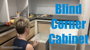 kitchen cabinet blind corner solutions blind corner cabinet youtube
