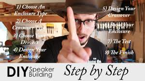 step by step guide to build your own speakers diy speaker