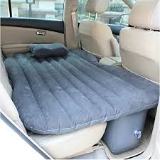 shag car travel air bed pvc inflatable mattress pillow camping