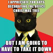Cat Christmas Tree Meme - wreck the halls cats destroying christmas trees cuteness