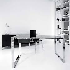 Steel Office Desks Fabulous Awe Inspiring Glass Top Office Desks 19 Table Tops