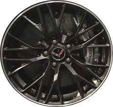 corvette zo6 rims chevrolet corvette wheels rims wheel stock oem replacement