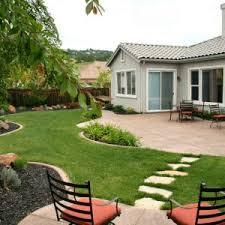 Cheap Landscaping Ideas Backyard Enchanting Cheap Landscaping Ideas For Small Backyards Photo