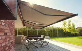 Motorized Outdoor Blinds Roll Out Motorised Awnings Folding Arm Awnings Ozsun Shade Systems