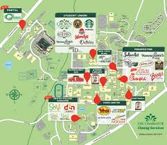 Unc Map Uncc Dining Image Gallery Hcpr