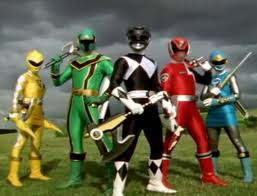 power rangers 10 team ups