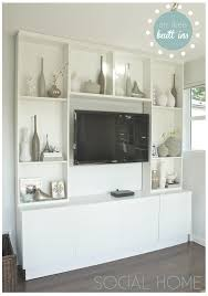 decorating interior home ideas for living room with ikea wall units