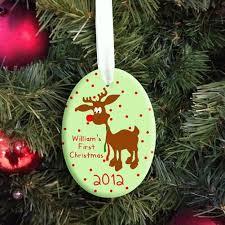Personalised Reindeer Christmas Tree Decorations by 52 Best Personalised Christmas Gifts Images On Pinterest Grains