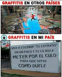 Graffiti Meme - v me gustaría que estuviera como el primer graffiti memes