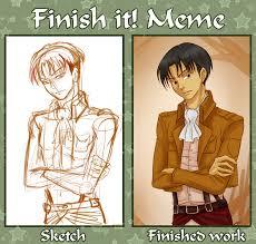 Finish It Meme - finish it meme rivaille by izumi sen on deviantart