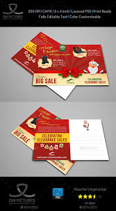 new year post card christmas and new year postcard template by owpictures graphicriver