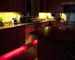 kitchen lighting backsplash purple led lighting and glass door