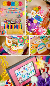 Halloween Monster Bash by Kara U0027s Party Ideas Girly Monster Bash Birthday Party Planning