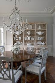 Nice Wood And Crystal Chandelier Living Room Hutch Dining Room - Crystal chandelier dining room