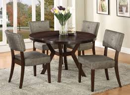 Dining Set With 4 Chairs Dining Table Set With Four Chairs In Grey Urbanewood