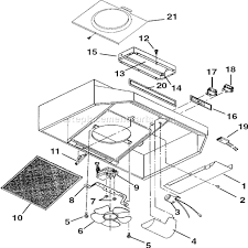 broan f403004 parts list and diagram ereplacementparts com