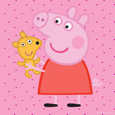 marmont hill u0027peppa and her puppy u0027 peppa pig painting print on