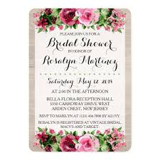 vintage bridal shower invitations bridal shower invitations card design idea for party registaz