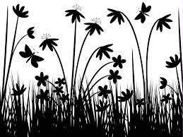 black and white flowers wallpaper 4 free wallpaper