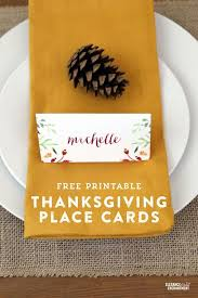free thanksgiving place cards crafthubs