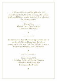 report memorial memorial order of service template free pamphlet