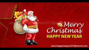 merry and a happy new year 2018 wishes