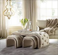Grey Tufted Storage Ottoman Furniture Wonderful Small Ottoman Bench Large Square Leather