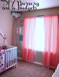 diy nursery on a budget nightchayde
