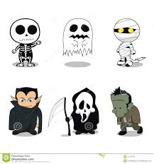 cute halloween ghost costumes royalty free stock images image