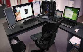 desk pc built into desk amazing computer built into desk brave