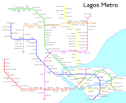 Mexico City Metro Map by Fantasy Metro Maps