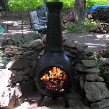 Paint For Chiminea Chiminea Dragonfly Style Cast Aluminum Outdoor Fireplace Chimenea