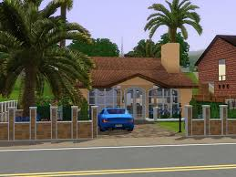 mod the sims exotic small mediterranean house
