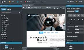 responsive design tool create rapid bootstrap website using bootstrap studio design dug