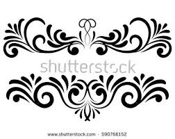 free ornamental floral elements vector free vector